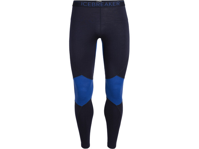 Icebreaker 260 Zone Leggings Men, midnight navy/surf